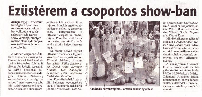 Dunaújvárosi Hírlap 2010. június 5.